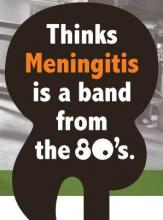 meningitis is a band from the 80s